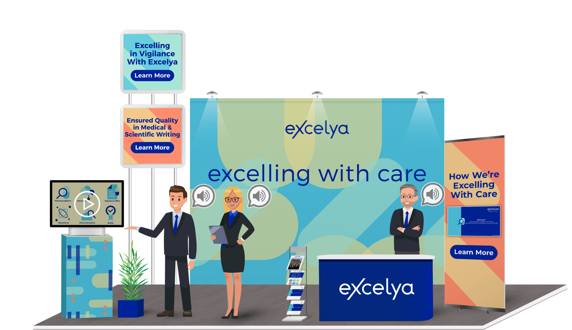 excelya virtual booth